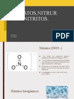 Nitratos,Nitruros y nitritos