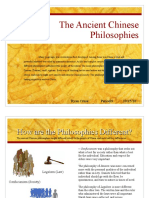 Ancient China Philosophies