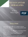 Karakteristik ajaran agama islam