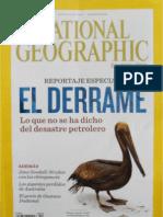 National Geographic en español. El derrame.