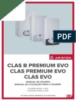 Manual Para Usuarios de La Caldera de Condensacion Ariston Clas Premium Evo