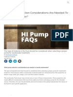 What Pump Selection Considerations Are Needed To Handle Wastewater_ _ Pumps & Systems