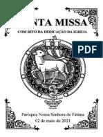 Dedicação PDF