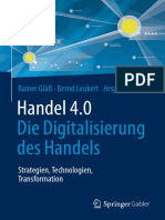 Handel 4.0 - Die Digitalisierung des Handels – Strategien, Technologien, Transformation
