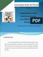 Slides Aprendizagem Infantil