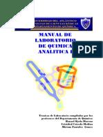 Manual de Laboratorio de Quimica Analitica