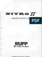 1974 NITRO II ENGINE PARTS LIST