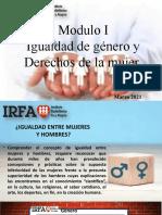 Taller de Género Módulo IRFA- Vzla