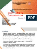 Thème8 l'Entrepreuneuriat