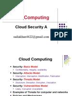 1 Cloud Security(Basics)