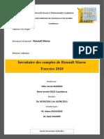 Rapport de Stage RENAULT