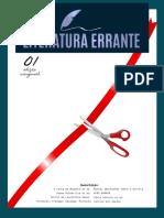 REVISTA LITERATURA ERRANTE - 1ª Edição