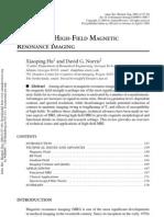 Hu 2004 httpdx.doi.org10.1146annurev.bioeng.6.040803.140017 - ADVANCES IN HIGH-FIELD MAGNETIC RESONANCE IMAGING