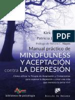 Maual Práctico de Mindfulness y Aceptación Para La Depresión