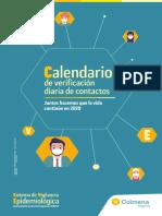 Calendario Planeador Juanita Acosta