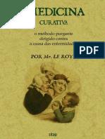 Purgantes na medicina curativa de 1825