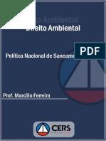 Ferreira, Marcilio - Política Nacional de Saneamento Básico
