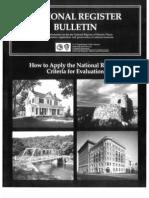 National Register Bulletin