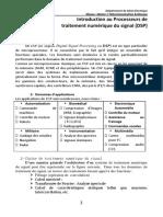 Chapitre 2_Architecture Et Périphérique de DSP