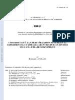 Contribution a La Caracterisation Numeri(1)