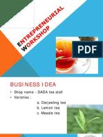 Entrepreneurial Workshop
