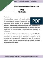 Planeación 4o Mayo 2021