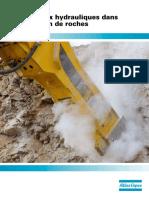 Les Marteaux Hydrauliques Dans l'Exploitation de Roches