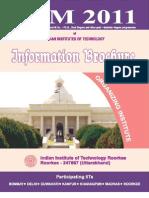 Information Brochure JAM 2011