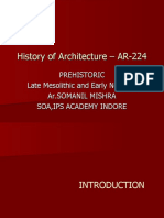 Dissertation on Prehistoric Ar,SOMANIL MISHRA,SOA IPS Academy