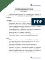Medida Provisória 1046.2021 - Flexibilização das leis trabalhistas
