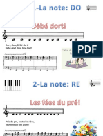Partitions Cours de Piano Angelina