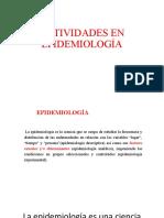 EPIDEMIOLOGÍA - APLICACIONES