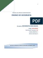 Módulo de Geografia Dos Solos