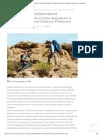 Recuperación de La Biota Después de La Extinción Masiva Cretácico-Paleoceno _ CienciaHoy