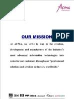 Acma Company Profile