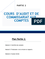 Audit et commissariat aux comptes PARTIE 2_Module   4_5_6