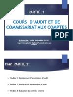 Audit et commissariat aux comptes_PARTIE 1_Module  1_2_3