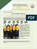 TALLER DE CRECIMIENTO FAMILIAR N° 1