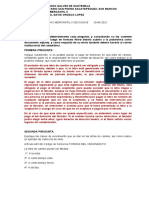 EXAMEN DE DERECHO MERCANTIL II SECCION B SEGUNDO PARCIAL 2021