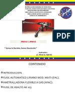 CLASE DE ARMAS LARGAS