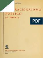 271 BOUSOÑO C - El Irracionalismo Poetico El Simbolo (BRH GR)