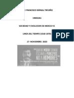Bernal Francisco Linea Del Tiempoo