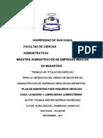 Tesis Thomas Moreno Final Mayo 2018 plan de marketing (1)