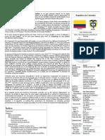 Colombia - Wikipedia, La Enciclopedia Libre