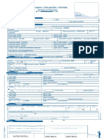 Formulario de afiliación al Sistema General de Pensiones