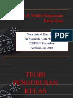 Teori & Model Pengurusan Kelas Khas(nota exam)