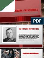 Martin Bormann – die nummer 2