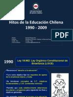Hitos Educación Chilena - Bernarda Moyano Roa