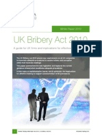 Bribery Act UK 2010