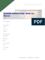 Alemán Profesional Nivel a2 – Murcia